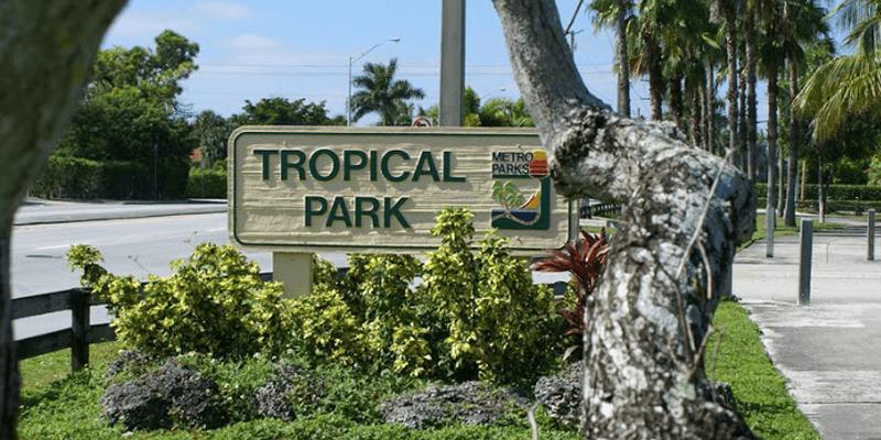 Tropical Park Miami Dade Parks Approved Vendor